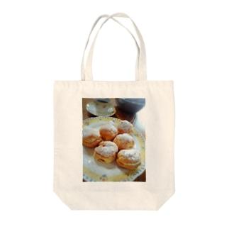 ティータイムの時間 Tote bags