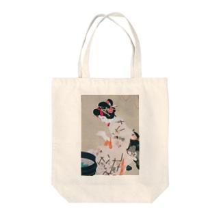 北野恒富 《願いの糸》 Tote Bag