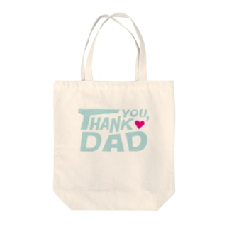 THANK YOU DAD Tote bags