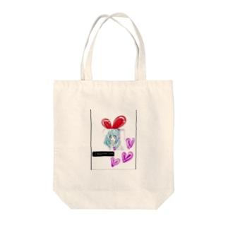 うさぎ♥️女子 Tote bags