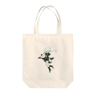 無気力少女2 Tote bags