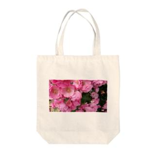 群集う桃薔薇。 Tote Bag