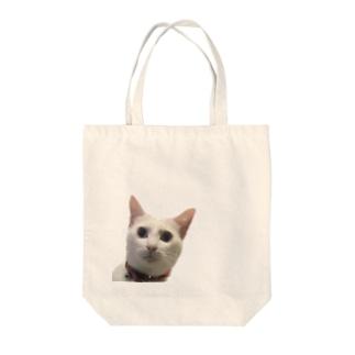 しらすの真顔 Tote bags