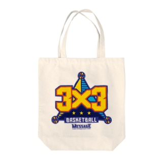 MessagEの3x3 BASKETBALL Tote bags