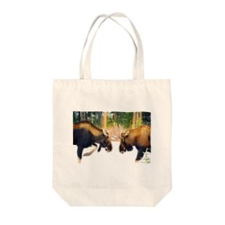 Moose Moose Tote bags