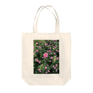 Callion's daydreamのピンクのお花 Tote bags