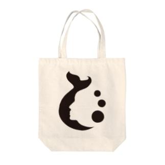 マーメイドシャドー Tote bags