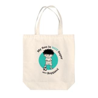 Yottblog オリジナルグッズ店のスーパー君 Tote bags