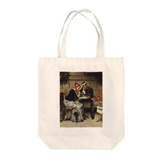ヴィルヘルム・ローゼンスタンド《コペンハーゲン、カフェ・ア・ポルタの外で》 Tote bags