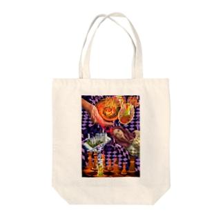 パワーストーン『カンテラオパール』 Tote bags