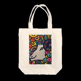 麦粒(ムギリュー)の良さそうなツラ Tote bags