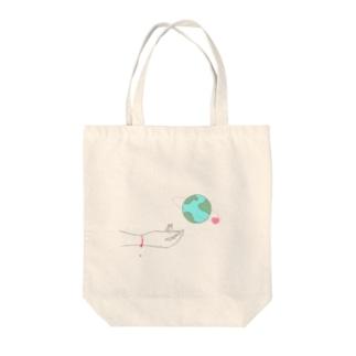 あなたがいるだけで世界は美しい Tote bags
