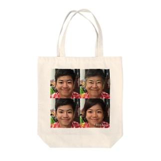 阪井一家 Tote bags