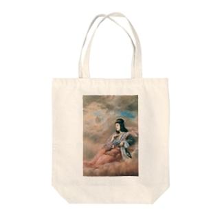 山本芳翠《十二支 丑『牽牛星』》 Tote Bag