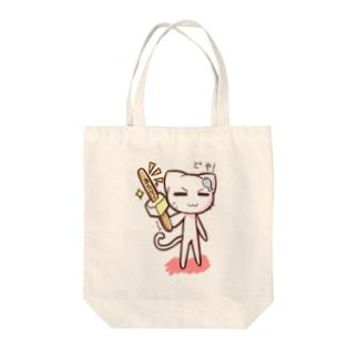 どやネコ!どやちゃん(アイス)02 Tote bags