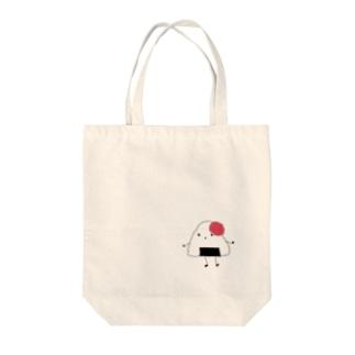 うめちゃん Tote bags