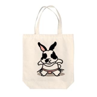 おかゆちゃん Tote bags