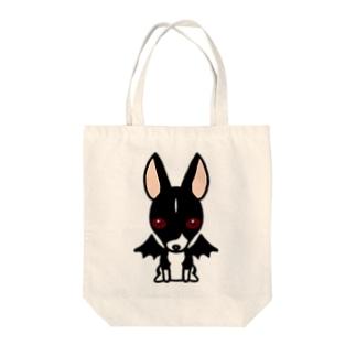 悪魔犬フィア Tote bags