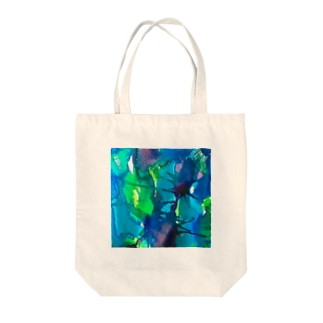 hugging love +《ハギング ラブ プラス》のblue_psychic_darling Tote bags