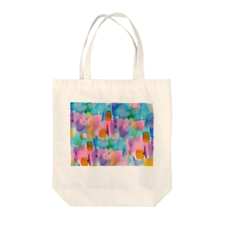 neutralフルグラフィックTシャツ Tote bags