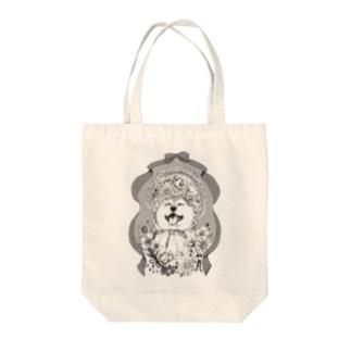 ロリィタ×柴犬 Tote bags