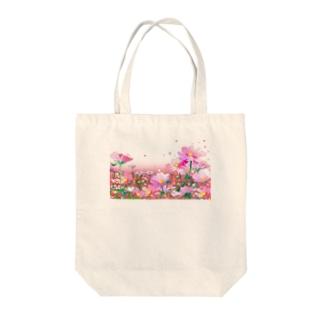 コスモス_02 Tote bags