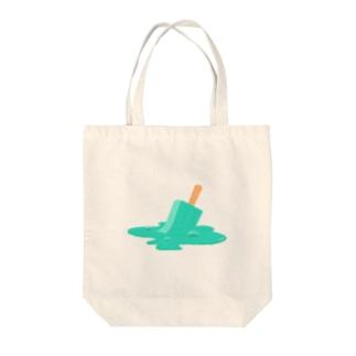 たすけてアイス(バブル) Tote bags