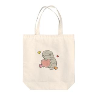 ミイラの飼い方 Tote bags