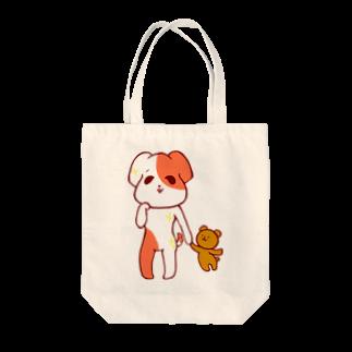 海月(みつきのワンコ Tote bags