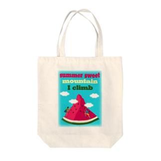 スイカクライミング(クライマー大Vr) Tote Bag