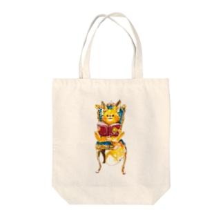 子狐の至福の時間 Tote bags