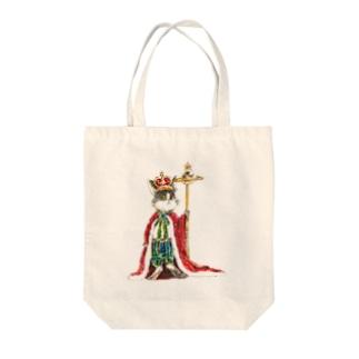 EMPEROR Tote bags