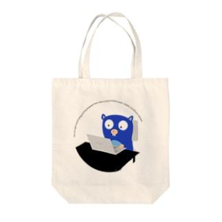 ゴーファー Tote bags
