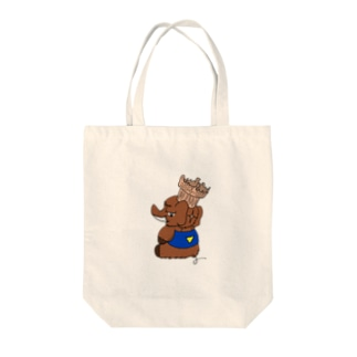 トマドン Tote bags