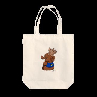 名無ノ作者のトマドン Tote bags