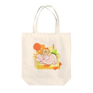 むぎゅう❤️ Tote bags