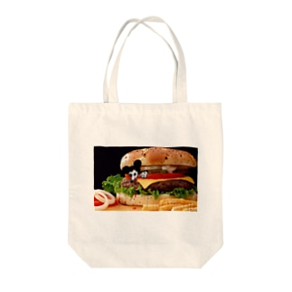 I like hamdurger Tote bags