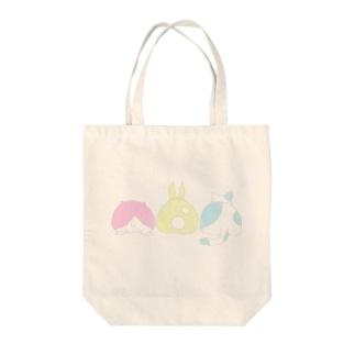 おしり Tote bags