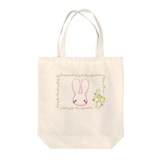 ☆ゆるふわバニー★ Tote bags