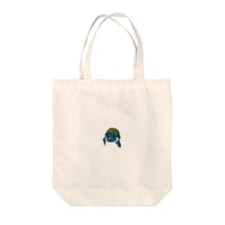 ペンギン軍チャリティアイテム販売 Tote bags