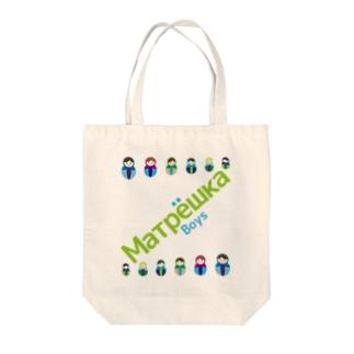 Matryoshkaboys Tote bags