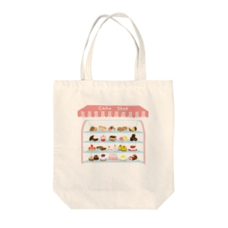 CAKE SHOP! Tote bags