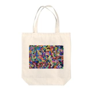 カベガミDJシェイシェイホー1 Tote bags