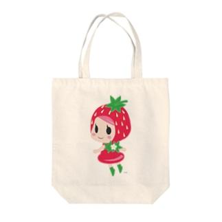 いちごちゃん Tote bags