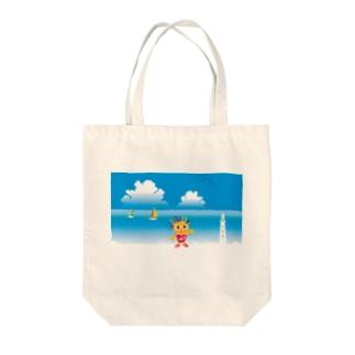 クレコちゃんの夏の海 Tote bags