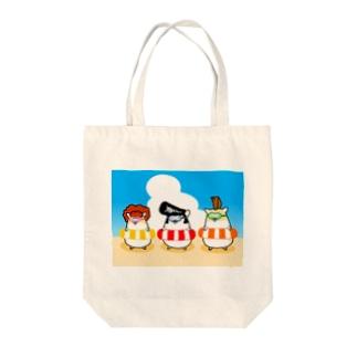 夏のヤンハム Tote bags