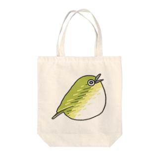 めじろちゃん Tote bags