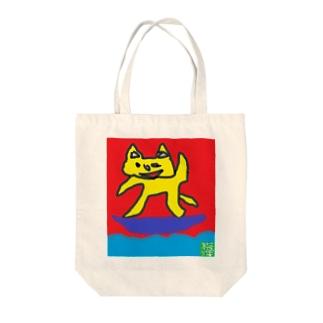 さーふぁーねこ Tote bags