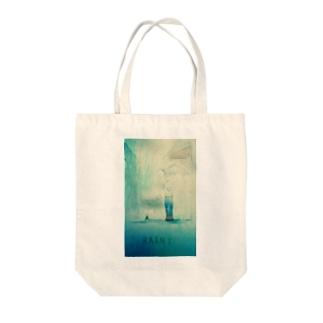 RAINY Tote bags