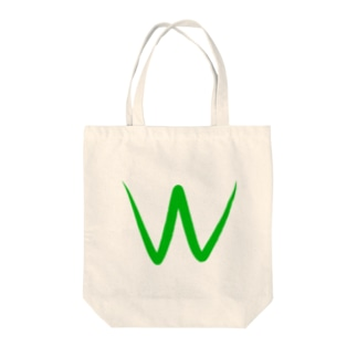 Wカップ Tote bags